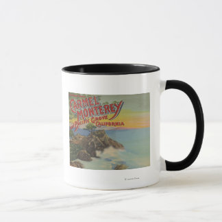 Carmel, Monterey, & Pacific Grove, CA - Welcomes Mug