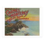 Carmel, Monterey, y arboleda pacífica, CA - recepc Postal