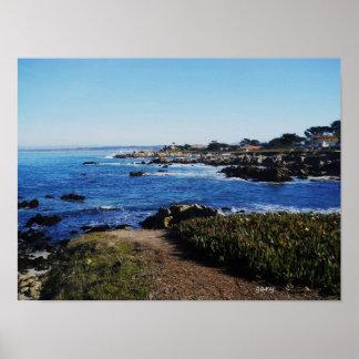 Carmel por el mar póster