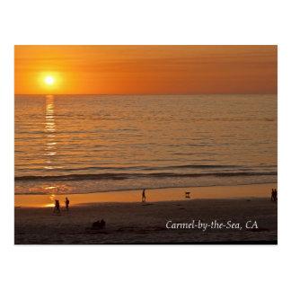 Carmel-por--Mar de la postal CA
