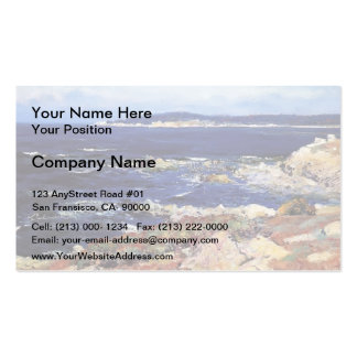 Carmel Seascape by Guy Rose Business Card Templates