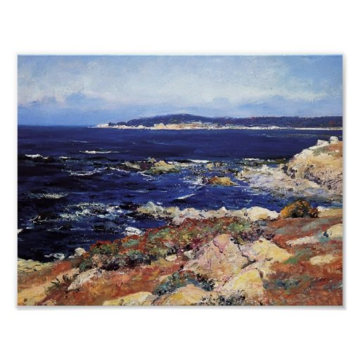 Carmel Seascape by Guy Rose Posters