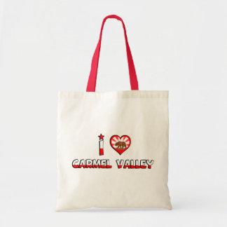 Carmel Valley, CA Tote Bags