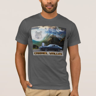 Carmel Valley Spirit Wolf (Color) T-Shirt
