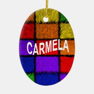CARMELA CERAMIC ORNAMENT