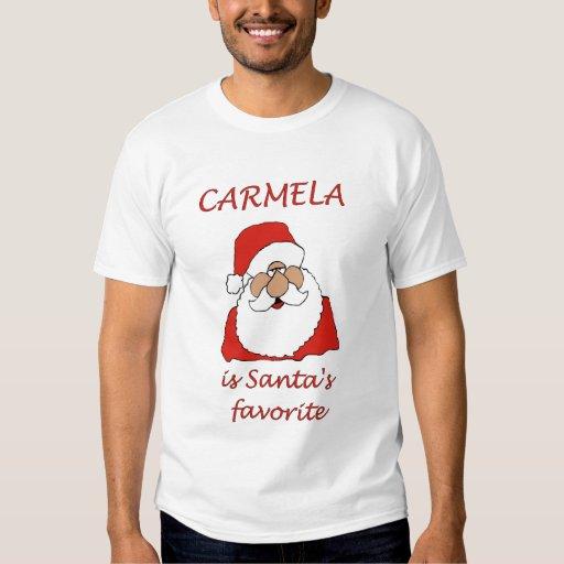 CARMELA Christmas T-shirts