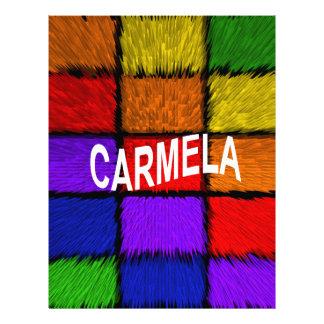 CARMELA LETTERHEAD