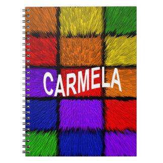 CARMELA NOTEBOOK