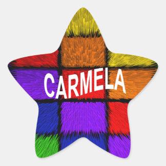 CARMELA STAR STICKER