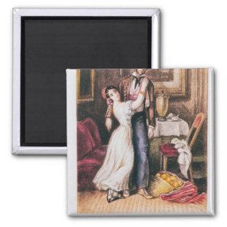 Carmen and Don Jose, 1846 Magnet