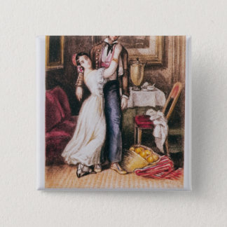 Carmen and Don Jose, 1846 Pinback Button