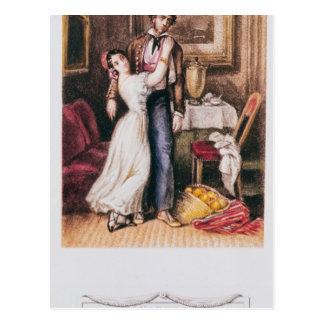 Carmen and Don Jose, 1846 Postcard