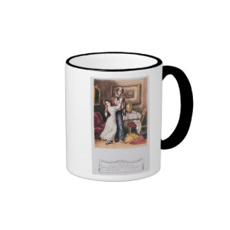 Carmen and Don Jose, 1846 Ringer Mug