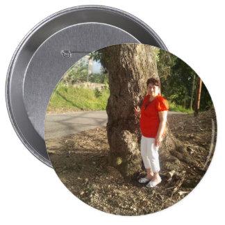 Carmen 4 Inch Round Button