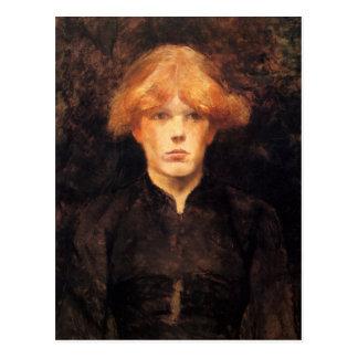 Carmen by Toulouse-Lautrec Postcard