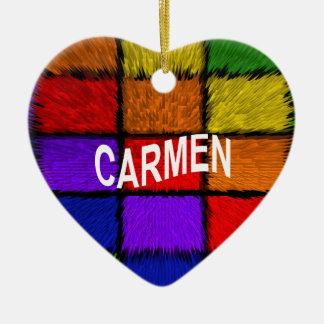 CARMEN CERAMIC ORNAMENT
