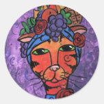 Carmen Classic Round Sticker