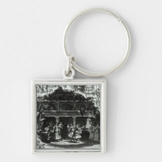 Carmen in the Lilas Pastia tavern Keychain