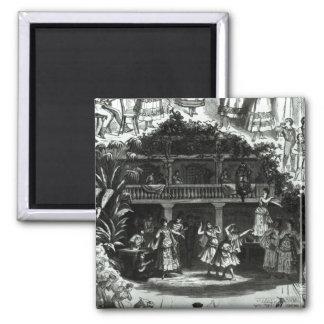 Carmen in the Lilas Pastia tavern Magnet