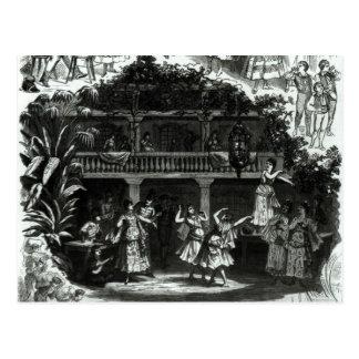 Carmen in the Lilas Pastia tavern Postcard