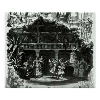 Carmen in the Lilas Pastia tavern Poster