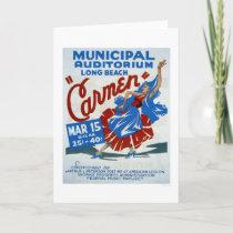 Carmen Long Beach 1938 WPA Card