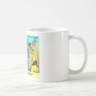 Carmen Mirand Act Funny Gifts & Collectibles Classic White Coffee Mug