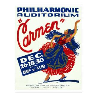 Carmen Postcard