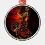 Carmen the Spanish Dancer Christmas Ornament