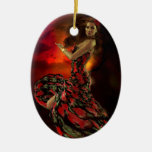 Carmen the Spanish Dancer Ornaments