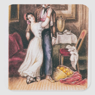 Carmen y Don Jose, 1846 Colcomanias Cuadradases