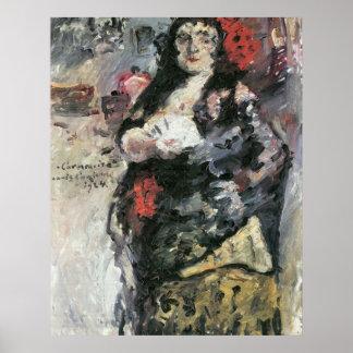 Carmencita by Lovis Corinth Poster