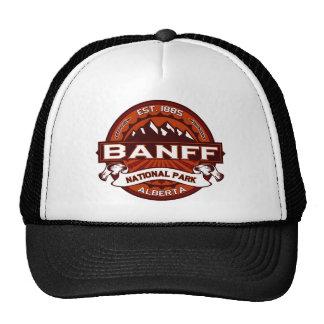 Carmesí de Banff Gorros Bordados