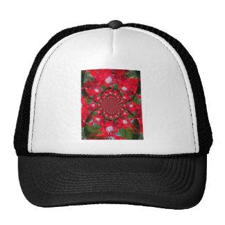 Carmesí extranjero precioso gorras