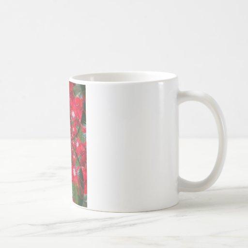 Carmesí extranjero precioso taza de café
