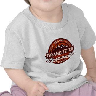 Carmesí magnífico de Teton Camiseta