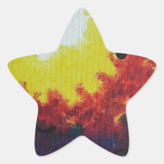 Carmesí Colcomanias Forma De Estrellaes Personalizadas