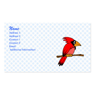Carmichael Cardinal Double-Sided Standard Business Cards (Pack Of 100)