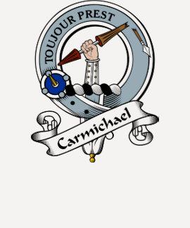 Carmichael Clan Badge T-shirts