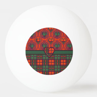 Carmichael clan Plaid Scottish kilt tartan Ping-Pong Ball