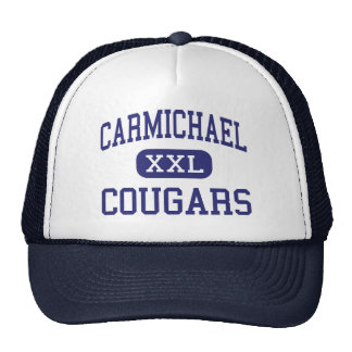 Carmichael Cougars Middle Richland Trucker Hats