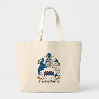 Carmichael Family Crest Large Tote Bag