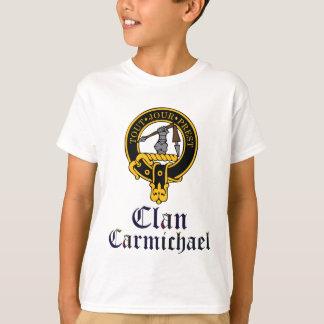 Carmichael Scottish Crest Tartan Clan Name Clothes T-Shirt