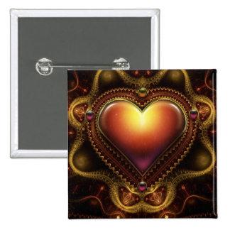 Carmila's Jewel 2 Inch Square Button