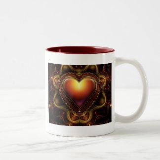 Carmilas Jewel Two-Tone Coffee Mug