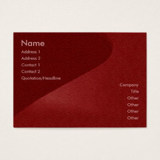 Carmin Red Sandstone Profile Card