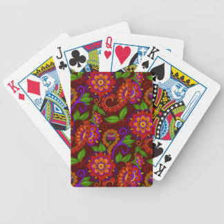 Carmine Bicycle Playing Cards