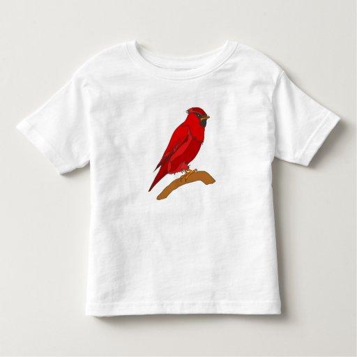 Carmine Cardinal Toddler T-shirt
