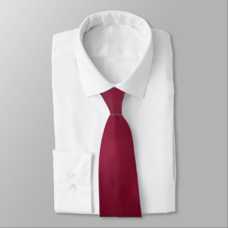 Carmine Red Color Tone Tie