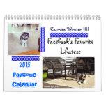 "Carmine Winston III ""2015 Pawsome Calendar"""